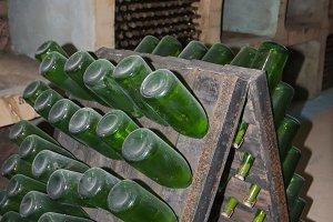 Wine bottles 8