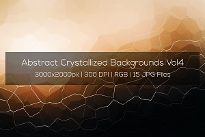 Crystallized Backgrounds Vol4