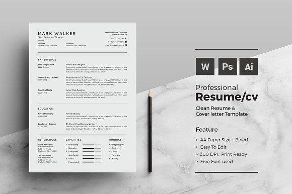 Resume CV Professional