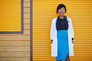 African american doctor female
