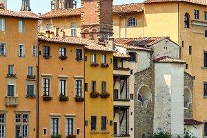 Florence Arno river, Tuscany, Italy