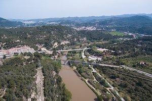 Llobregat river. Barcelona