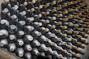 Wine bottles 11