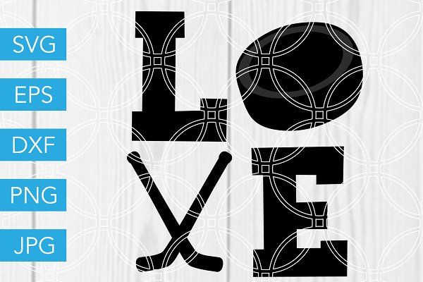 16+ Live Love Hockey Cutting File Crafter Files