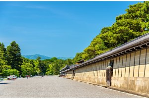 Wall of Kyoto-gosho Imperial Palace