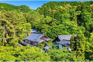 View of Nanzen-ji Temple in Kyoto
