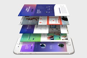 iPhone Mock-Up 06