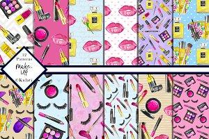 Make-Up Digital Pattern / Paper