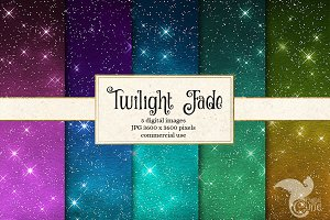 Twilight Fade - Ombre Star Textures