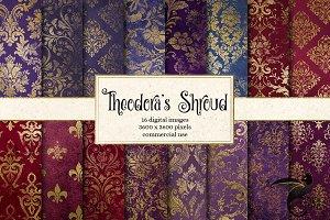 Theodora's Shroud Digital Paper