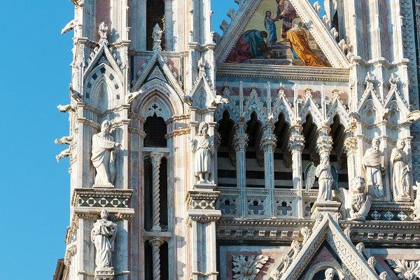 Architecture Stock Photos: YuriyB - Siena street scene, Tuscany, Italy