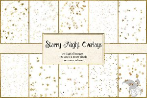 Gold Star Overlays