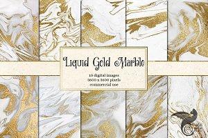 Liquid Gold Marble
