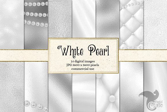 White Pearl Textures
