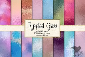 Rippled Glass Texture Pack