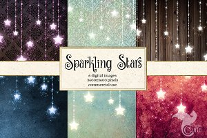 Sparkling Star Backgrounds