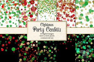Christmas Party Confetti