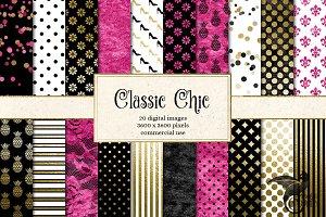 Classic Chic Digital Paper