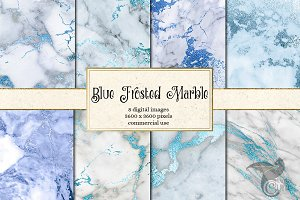 Blue Marble Digital Paper