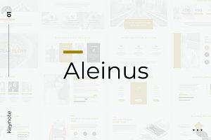 Aleinus Creative Minimal Keynote