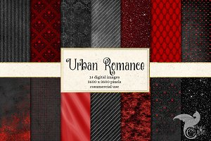 Urban Romance Digital Paper