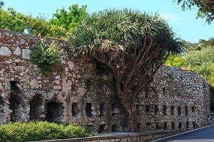 Taormina city scene, Sicily, Italy