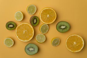 Vitamin C concept
