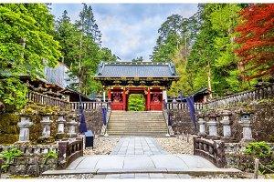 Futarasan shrine, a UNESCO world heritage site in Nikko
