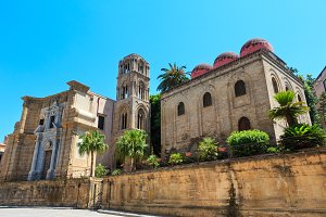 Old Palermo city view Sicily, Italy