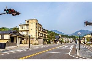 Street in Nikko, Tochigi Prefecture, Japan