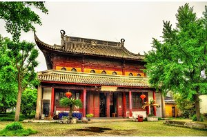 The Bao'en Temple complex in Suzhou, China