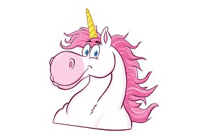 Magic Unicorn Head Classic Character