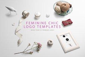 Feminine Chic Logo Templates