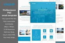 Kinship-Multiporpuse email template
