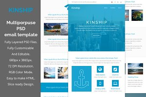 Kinship-Multiporpuse email template