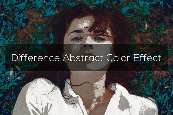 Difference Abstract Color Effect