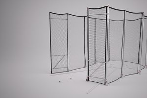 Track & Field Hammer Throw Cage