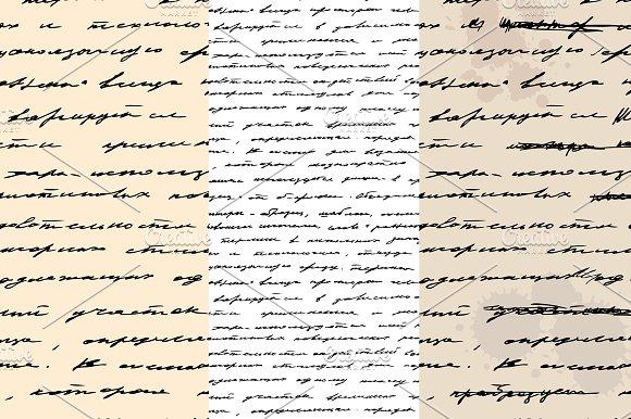 Handwriting graphic patterns creative market spiritdancerdesigns Images