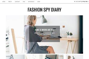 "WordPress Theme ""Fashion Spy"""
