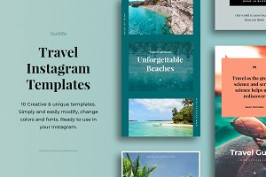 Outlife Travel Instagram Templates
