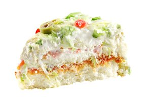 Delicious vegetable cake