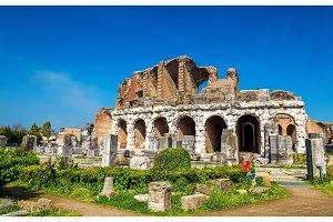 The Amphitheater of Capua, the second biggest roman amphitheater