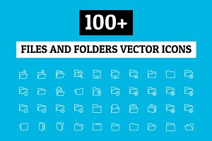 100+ Files and Folders Icon