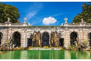 Fontana di Eolo at the Royal Palace of Caserta