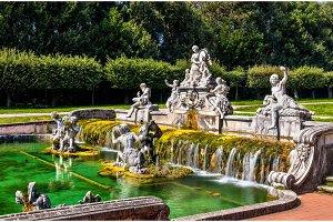 Fontana di Cerere at the Royal Palace of Caserta