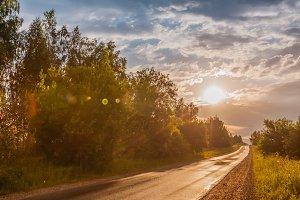 Road Sunlight, Nature