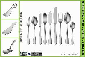 Common Cutlery Set 9 Pieces