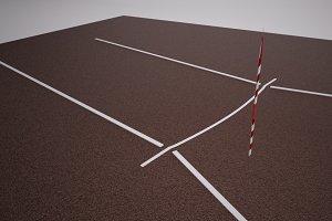 Track & Field Javelin Runway