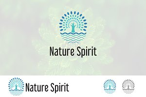 Spirit of Nature Tree Logo