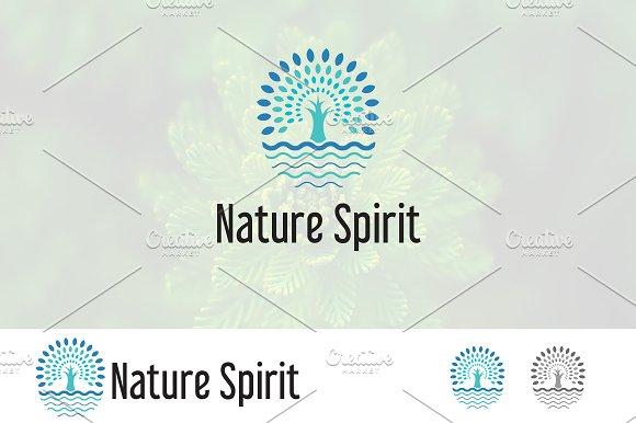 Spirit Of Nature Tree Logo